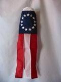 18 Colonial Stars Windsock Made in USA
