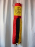 American Made Firefighter Windsock