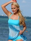 Seabreeze Sheer Swim Dress Made in America