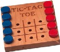 Tic-Tac-Toe - Deluxe Game Made in USA