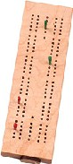 Maple Landmark Cribbage - Standard