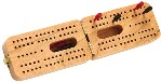 Maple Landmark Cribbage - Folding