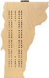 Maple Landmark Vermont Cribbage Madein USA