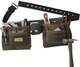 Craftsman Pro Leather Double Nail and Tool Apron