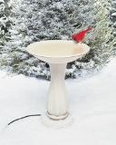 Deluxe Heated Bird Bath with Pedastal Made in USA