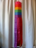 Tropical Rainbow American Made Windsock