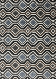 Mohawk Augusta Omaha Grey Black Rug USA Made
