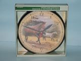 Horse Clock Made in USA