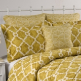 Victor Mills Atlas Golden Rod Comforter Set Made in USA
