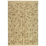 Mohawk RAYMOND WAITES  Bamboo Garden/light camel Area Rug - Made in America