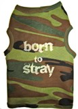 Born to Stray Dog T-Shirt  Made in USA