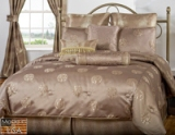Victor Mills Brio Bronze Comforter Set Made in USA