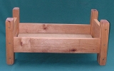 Handmade Wood Doll Bed - American Made