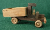Handmade Wooden  Toy Dump Truck - American Made