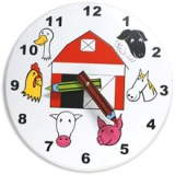 Holgate Toys Children's Farm Clock - American Made