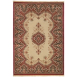 Mohawk RAYMOND WAITES  Fez/light camel Area Rug - Made in USA