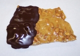 16oz Traditional Peanut Brittle in Dark Chocolate