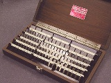 Starrett Rectangular Steel 81pc Gage Blocks Set- Free Shipping!