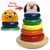 Holgate Rocky Cat/Dog Cone Wooden Toy Made in USA