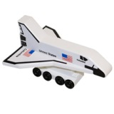 Columbia Space Shuttle- Wooden Toy Made in the USA