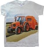 Kids Tractor T-Shirt Made in USA