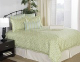 Victor Mills TileWorks Cilantro Comforter Set Made in America