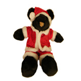 Mr. Bear Claus Stuffed Animal - American Made
