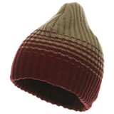 Thick Rib Striped Beanie American Made