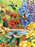 Hummingbird Garden 500 piece Puzzle Made in USA