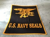 Navy Seals Blanket Made in USA