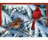 Tree Free Greeting Cards 6 Paper Holiday Visit Christmas