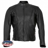 Classic Leather Jacket Made in USA