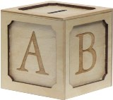 Maple Landmark ABC Coin Bank American Made