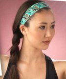 "Thick 1.5"" Head Band Made in USA"