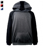 Two Tone Hoodie Pullover Made in USA