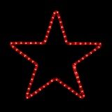 """Twinkle Twinkle Little Star"" Rope Light Display Made in USA"