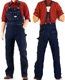 Low Back Zipper Fly Overalls American Made