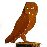 Barn Owl Bird Silhouette American Made