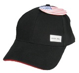 Twill Cap Made in America - black