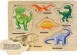 Lift and Learn Dinosaur Puzzle Made in USA