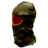 One Hole Fleece Reversible Mask - Camo