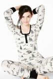 "Bedhead Pajamas Gray American Safari Stretch Henley PJ Made in USA <FONT FACE=""Times New Roman"" SIZE=""+1"" COLOR=""#FF0000""> On Sale Now! </font>-"