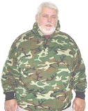 Big & Tall American Made Camo Hooded Sweatshirt