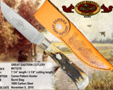 Great Eastern Cutlery Hunting Made in USA - Out of Stock until June 2011