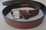 Heavy Duty Brown Leather American Made Belt