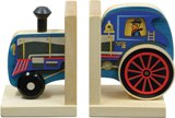 Maple Landmark Mighty Driver Bookend - Train Engine Made in America