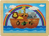 Noah's Ark Puzzle Made in America by Maple Landmark