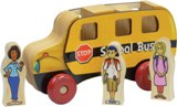 Maple Landmark Mighty Drivers, School Bus Toy Made in America