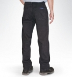 American Made Black Jeans - Regular 5 pocket Jeans with a Gusset