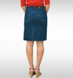 American Made Denim Skirt